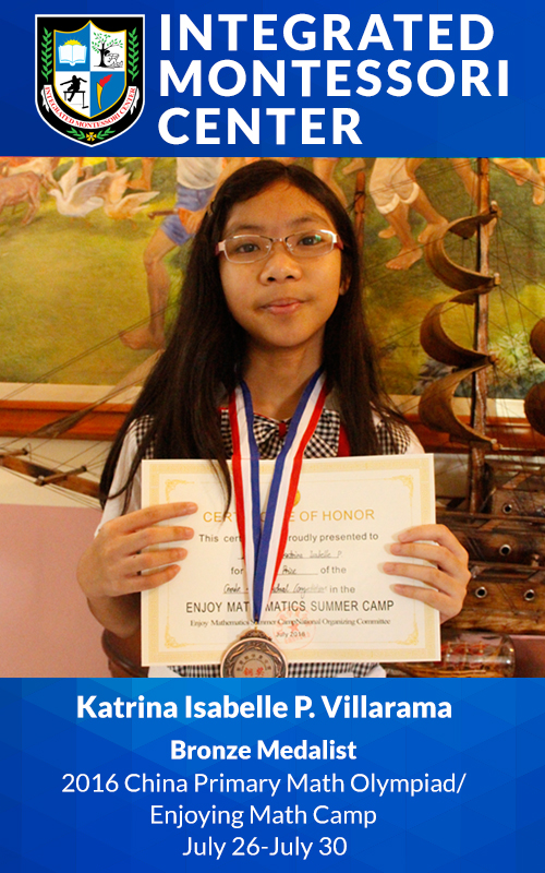 IMC Students Win Awards in International Math Competitions